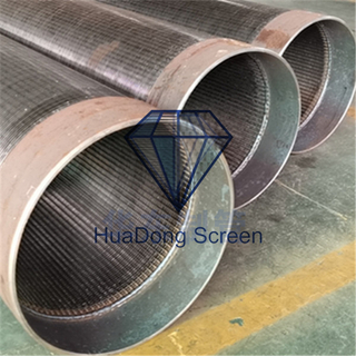 大口徑529mm碳鋼楔形絲過濾管